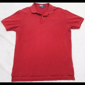 Ralph Lauren Red Polo Custom Fit